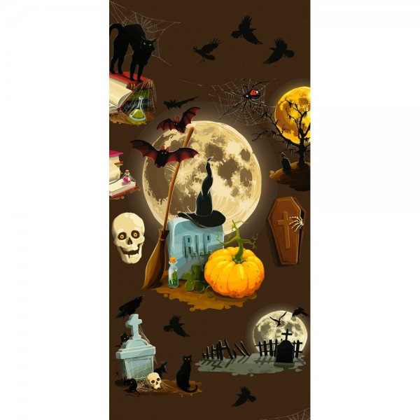 Display Banner Witch (Halloween), 90 x 180 cm