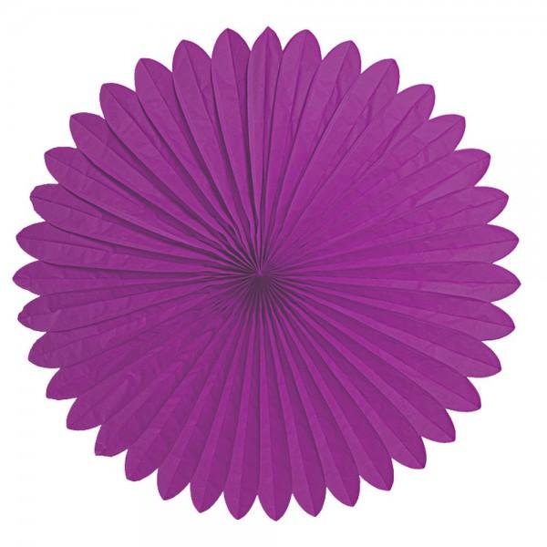 Faltrosette violett Ø 120 cm