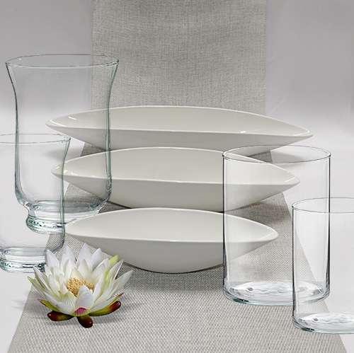 Glasvasen und Tischvasen