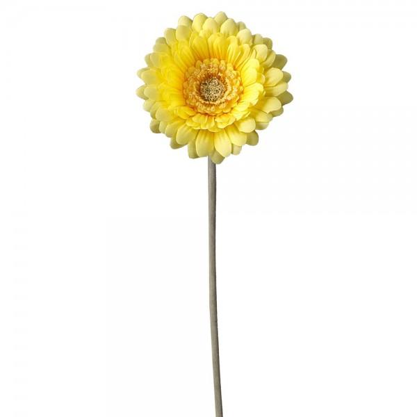 Gerbera gelb, Ø 10 x 54 cm
