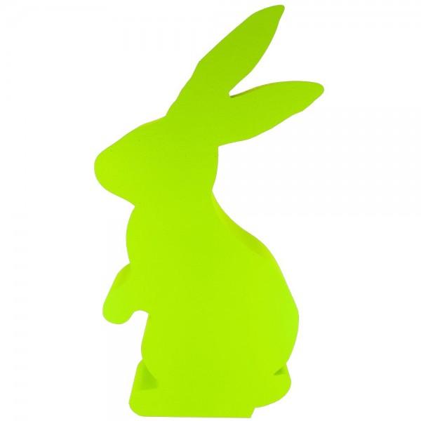 Hase stehend Styrofoam grün