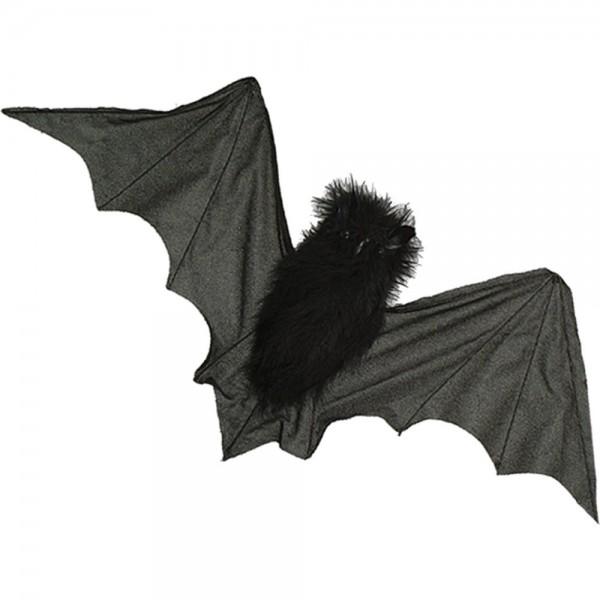 Fledermaus fliegend, 60 x 33 cm