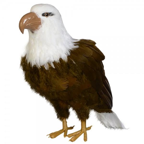 Adler Tierattrappe stehend, 40 cm