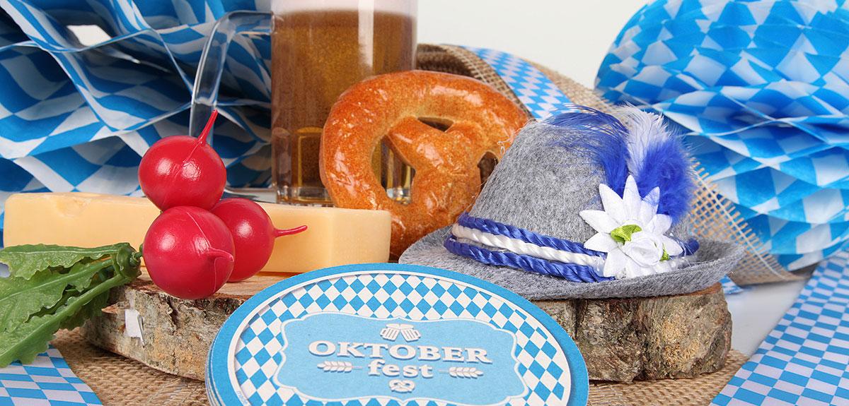 Oktoberfest Dekorationsartikel Deko Mottoparty Dekoartikel neu