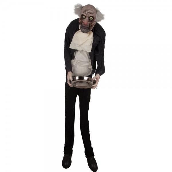 Halloween Figur Butler stehend 164 cm