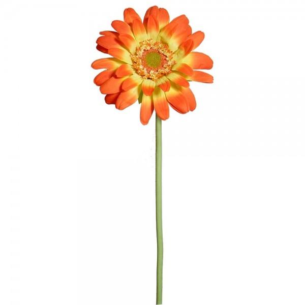 Gerbera Blume XL orange, 100 cm, Ø 40 cm