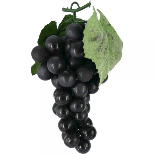 Weintraubenhenkel Attrappe schwarz, 16 cm