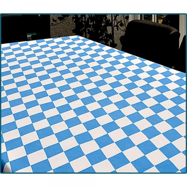 Rautenstoff Bayern für Biertische, blau-weiß, 70 x 245 cm