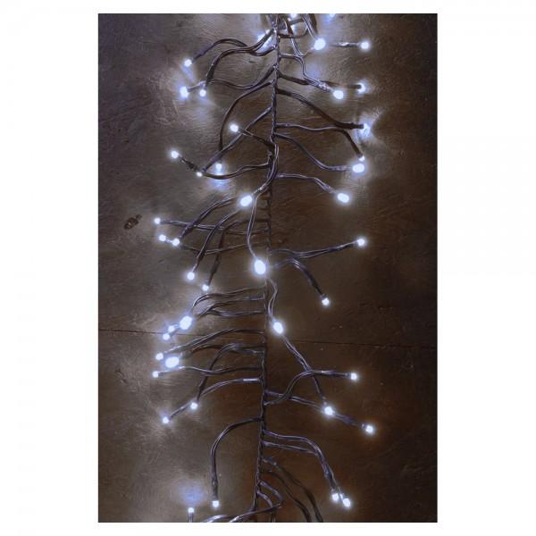 LED LV Girland Light 300 LEDs kalt-weiß - 3 Meter 24V
