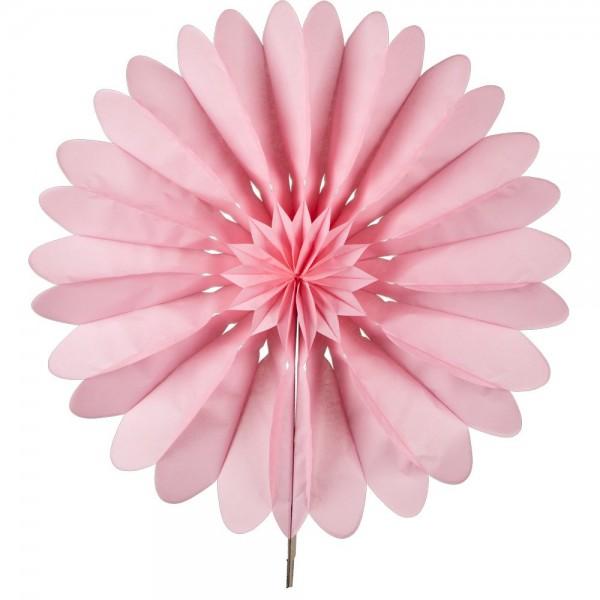 Faltrosette Paper B1 rosa, Ø 35 cm
