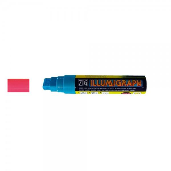 Kreidemarker Illumigraph Wasserfest pink, 7-15 mm Spitze