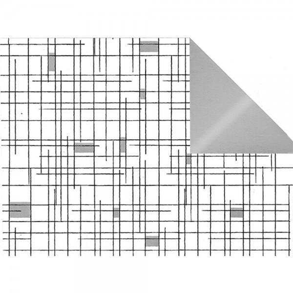 Geschenkpapier Abstrakt Duo 50 cm x 50 m