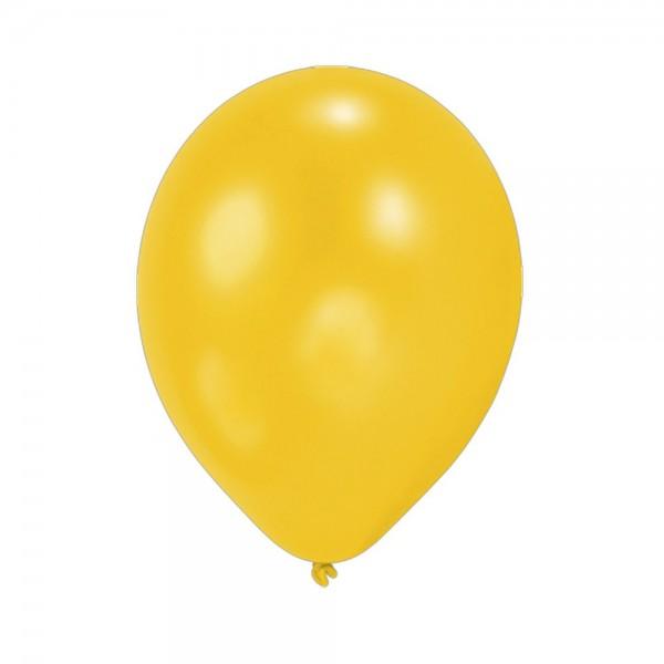 Luftballons 100 Stuck Gelb 90 100 Cm Umfang Latex Luftballons