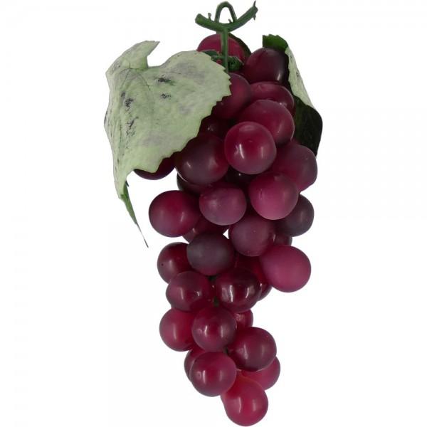 Weintraubenhenkel Attrappe rot, 16 cm