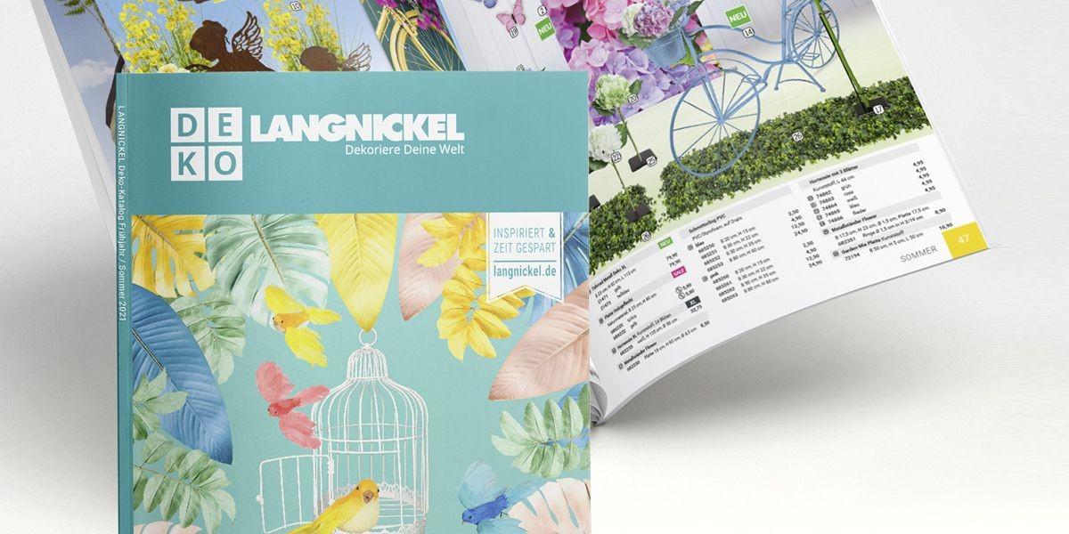 Aktueller Frühjahr/Sommer Deko-Katalog zum herunterladen oder direkt online blättern