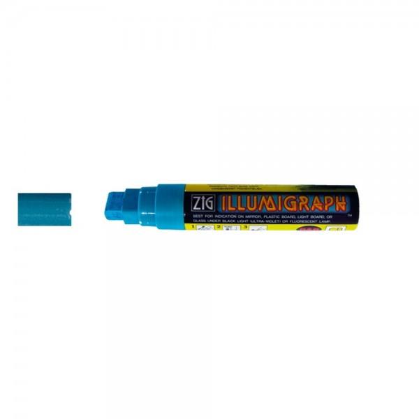 Kreidemarker Illumigraph groß blau, 7-15 mm Spitze
