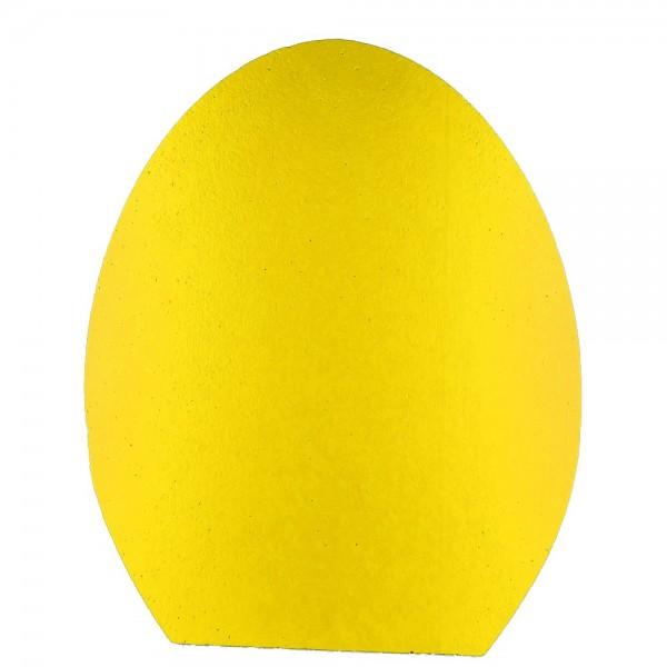 Ei stehend 2D Styrofoam gelb
