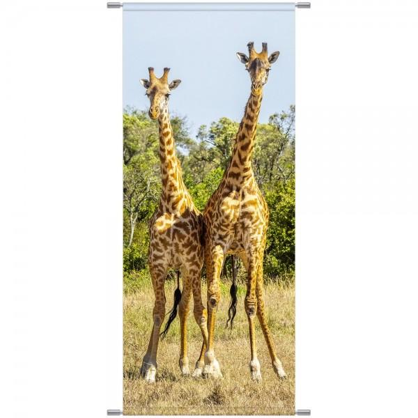 Banner Giraffen, 75 x 180 cm