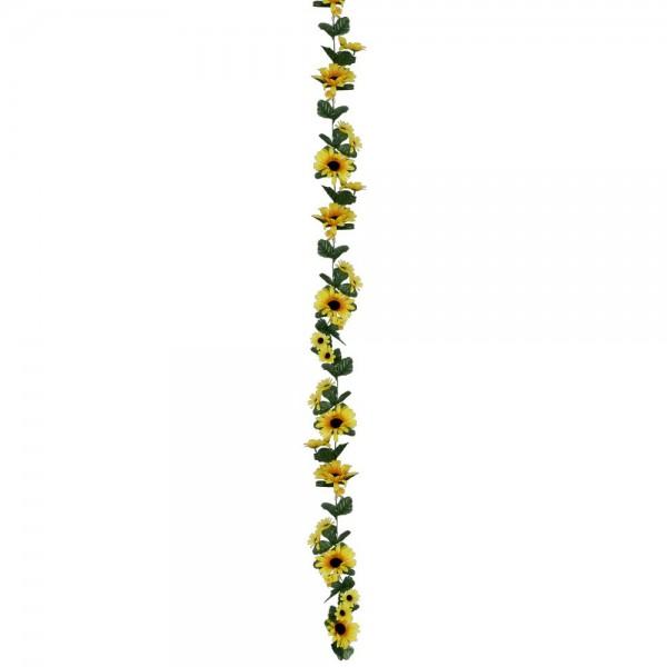 Sonnenblumengirlande, 180 cm