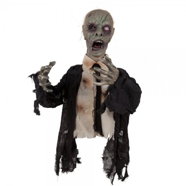 Halloween Oberkörper Zombie 43 cm
