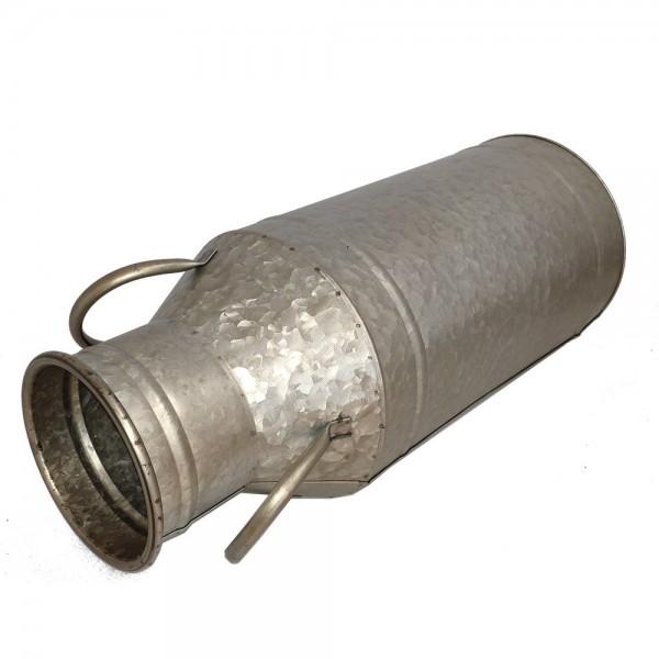 Milchkanne Metall, H 51 cm, Ø 20,5 cm