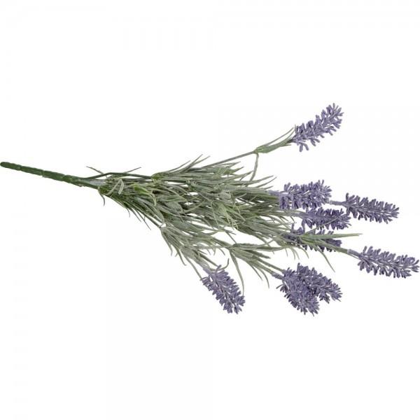 Lavendelbusch x9 grün/lila, 43 cm
