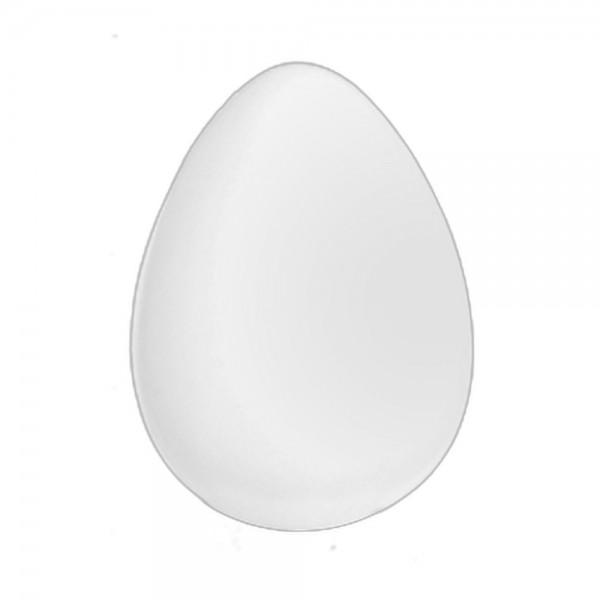 Eier aus Kunststoff 12 Stück weiß 17 cm