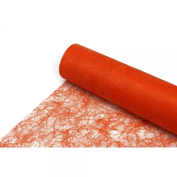 Sizoflor Tischläufer orange, 30 cm x 25 m